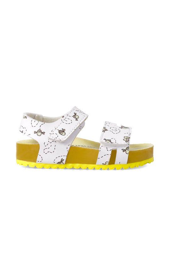 Garvalin - Dětské sandály žlutá
