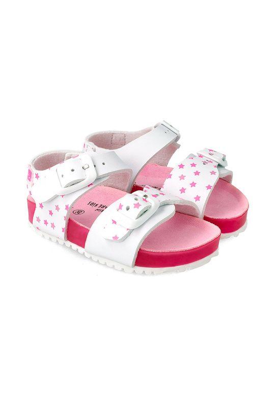 ostry różowy Garvalin - Sandały dziecięce Dziewczęcy