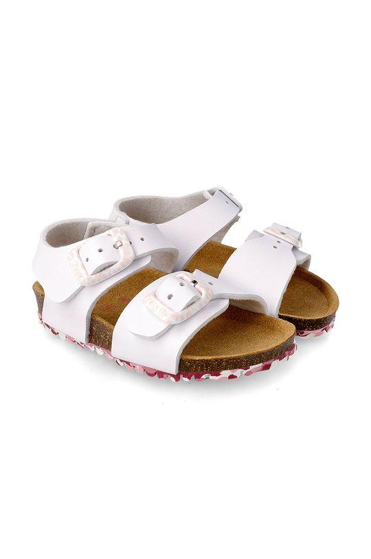 bílá Garvalin - Dětské sandály Dívčí