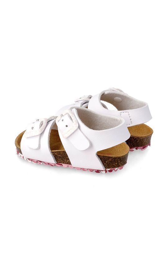 bílá Garvalin - Dětské sandály