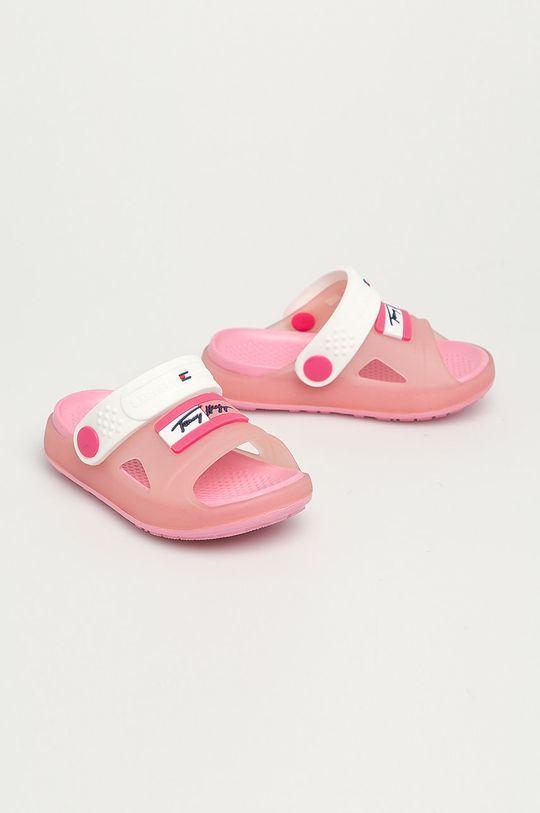 Tommy Hilfiger - Dětské sandály růžová