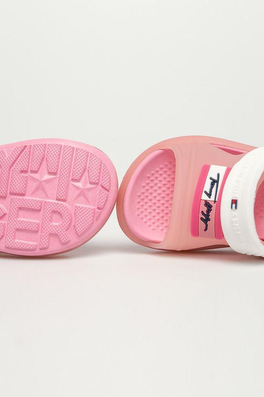 růžová Tommy Hilfiger - Dětské sandály