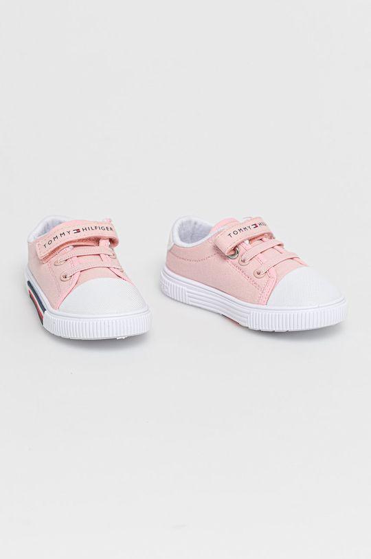 Tommy Hilfiger - Buty dziecięce różowy