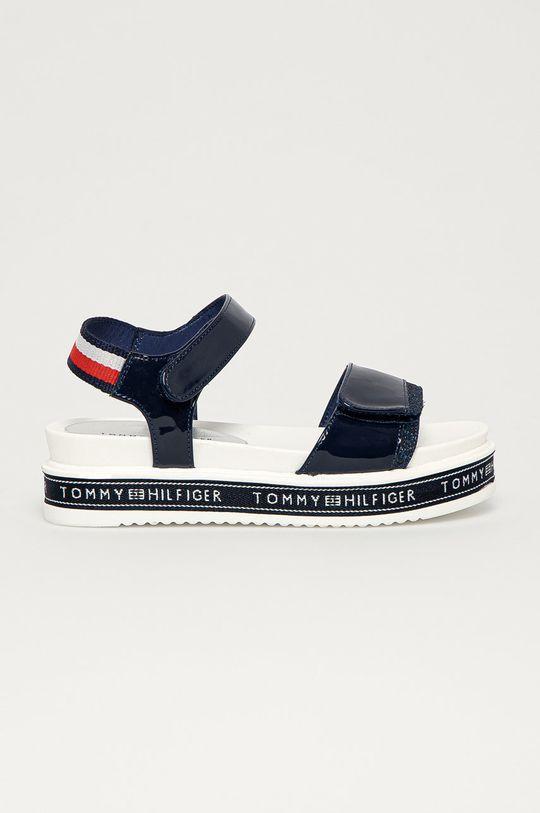 námořnická modř Tommy Hilfiger - Dětské sandály Dívčí