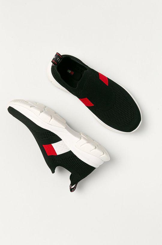 černá Tommy Hilfiger - Dětské boty