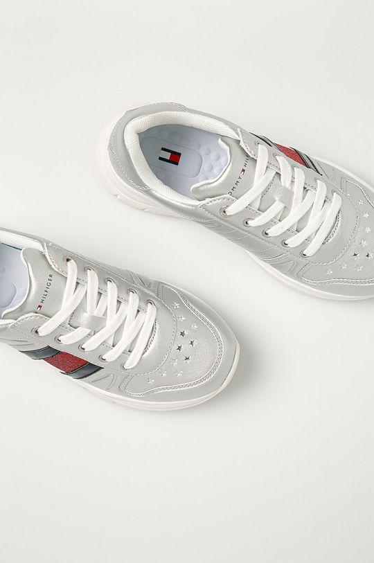 stříbrná Tommy Hilfiger - Dětské boty