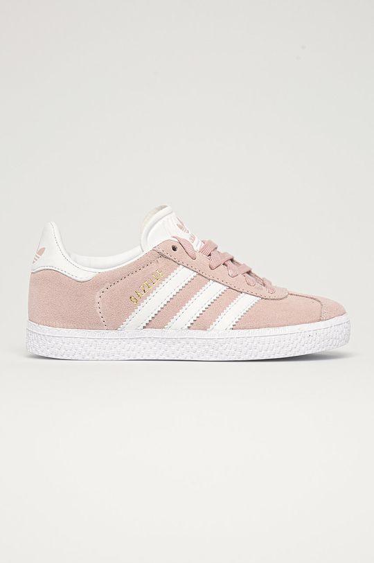 ružová adidas Originals - Detské topánky Gazelle C Dievčenský