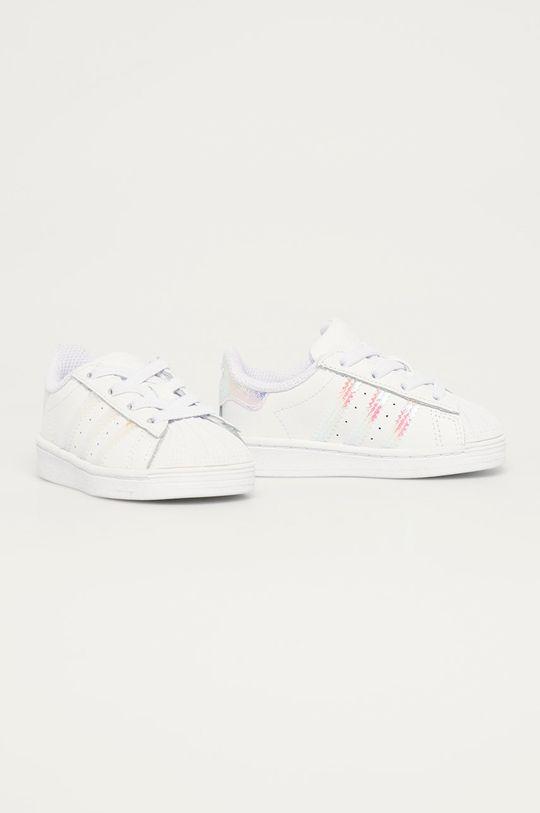 adidas Originals - Detské topánky Superstar EL biela