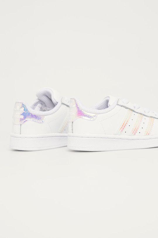 adidas Originals - Detské topánky Superstar EL  Zvršok: Syntetická látka, Prírodná koža Vnútro: Textil Podrážka: Syntetická látka