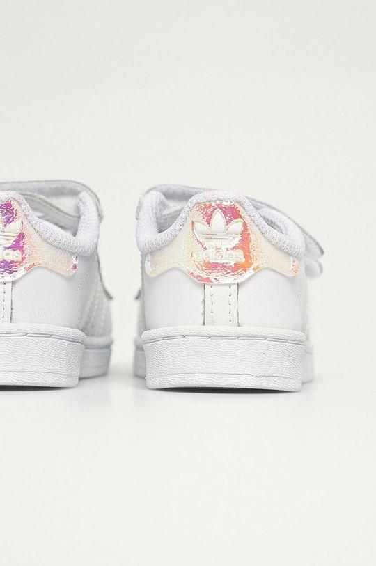 adidas Originals - Dětské kožené boty Superstar Cf  Svršek: Umělá hmota, Přírodní kůže Vnitřek: Textilní materiál Podrážka: Umělá hmota