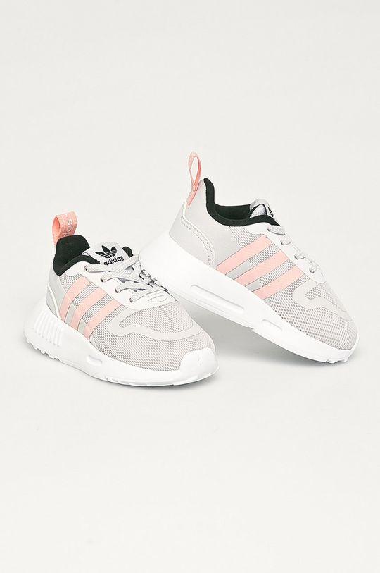 adidas Originals - Dětské boty Multix El I světle šedá