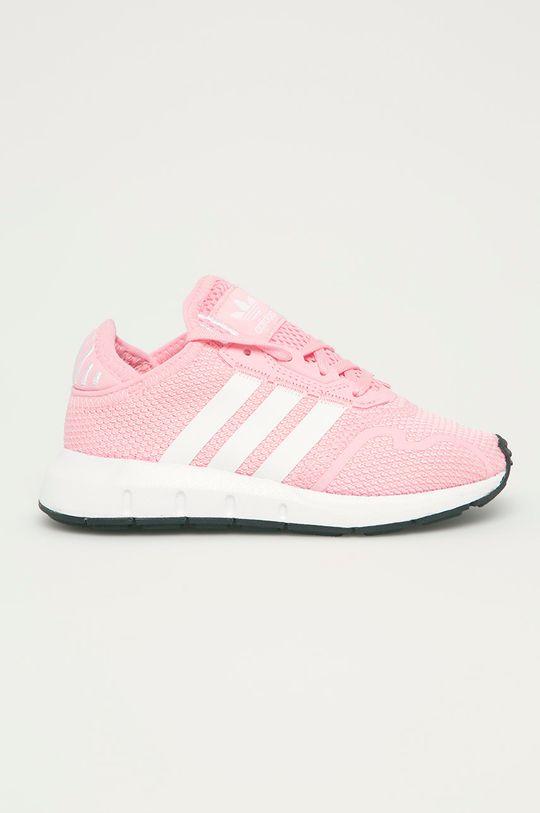 ružová adidas Originals - Detské topánky Swift Run X C Dievčenský
