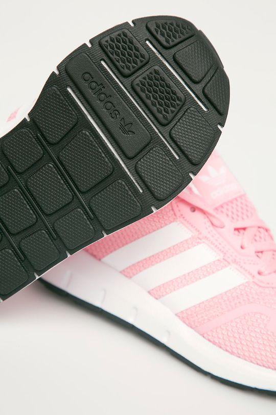ružová adidas Originals - Detské topánky Swift Run X C