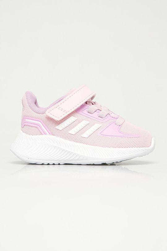 розовый adidas - Детские ботинки Runfalcon 2.0I Для девочек