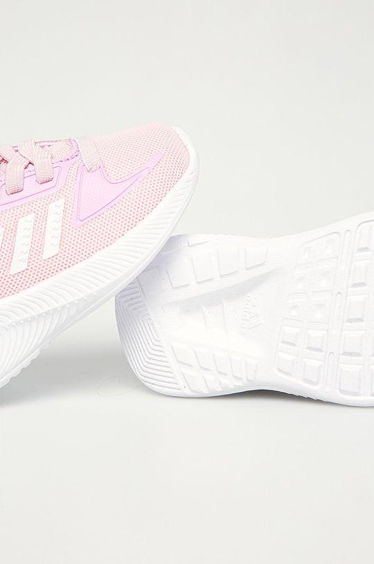розовый adidas - Детские ботинки Runfalcon 2.0I