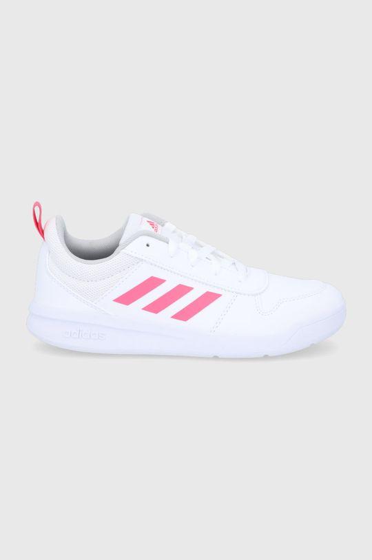 biały adidas - Buty dziecięce Tensaur Dziewczęcy