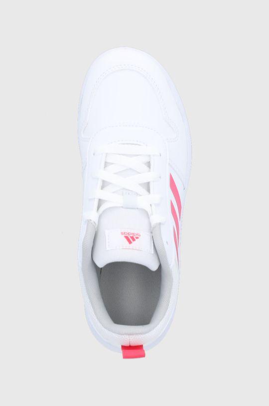 biały adidas - Buty dziecięce Tensaur