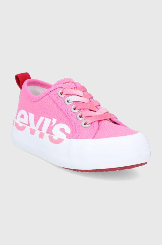 Levi's - Detské tenisky ružová
