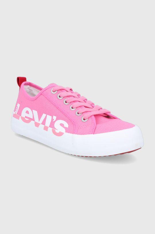 Levi's - Tenisówki różowy