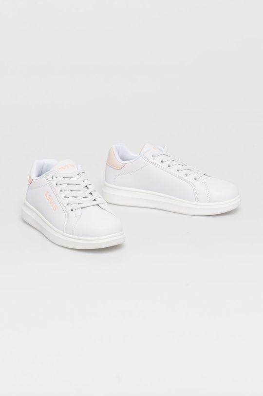 Levi's - Dětské boty bílá