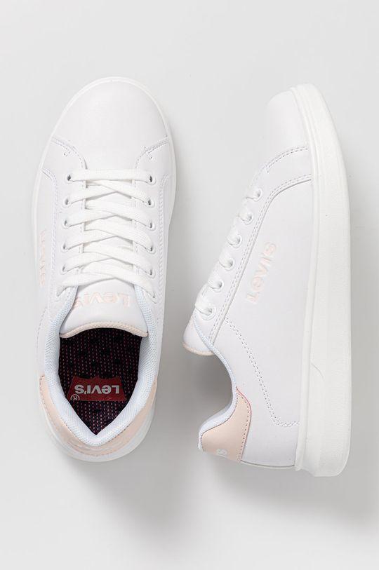 biały Levi's - Buty dziecięce