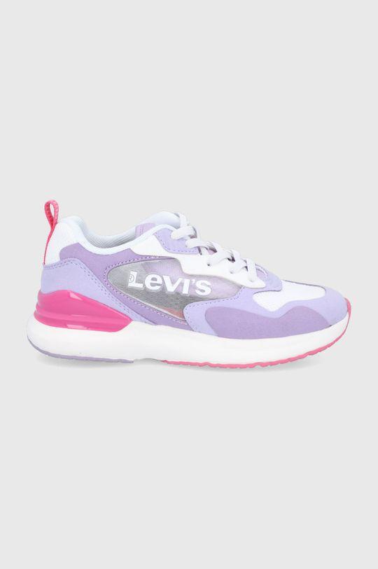 fioletowy Levi's - Buty dziecięce Dziewczęcy