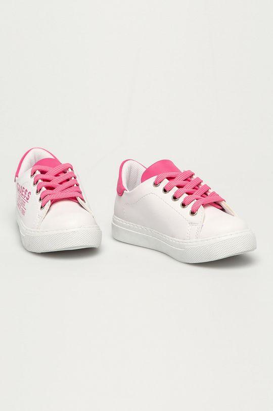 Guess - Buty dziecięce różowy