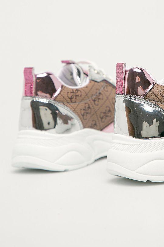hnědá Guess - Dětské boty