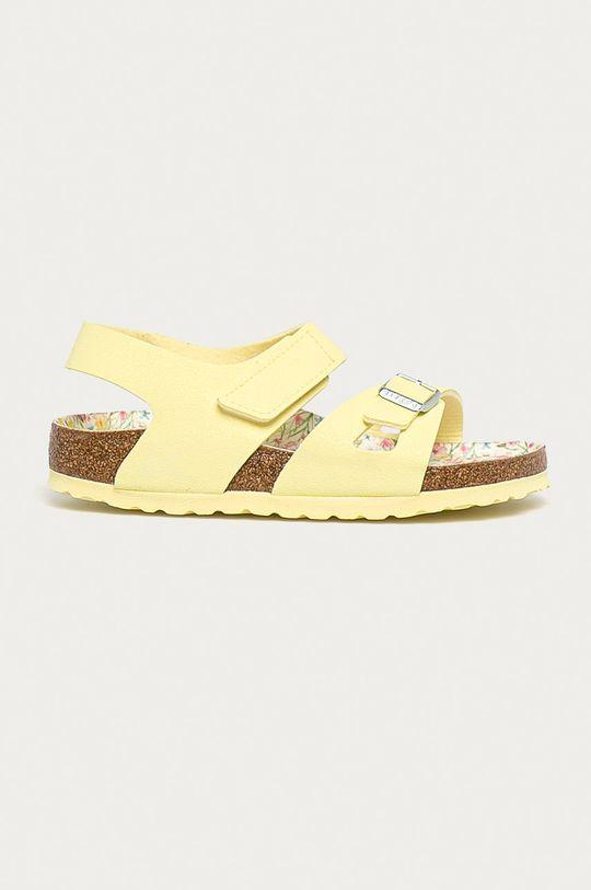 žlutá Birkenstock - Dětské sandály Colorado Dívčí