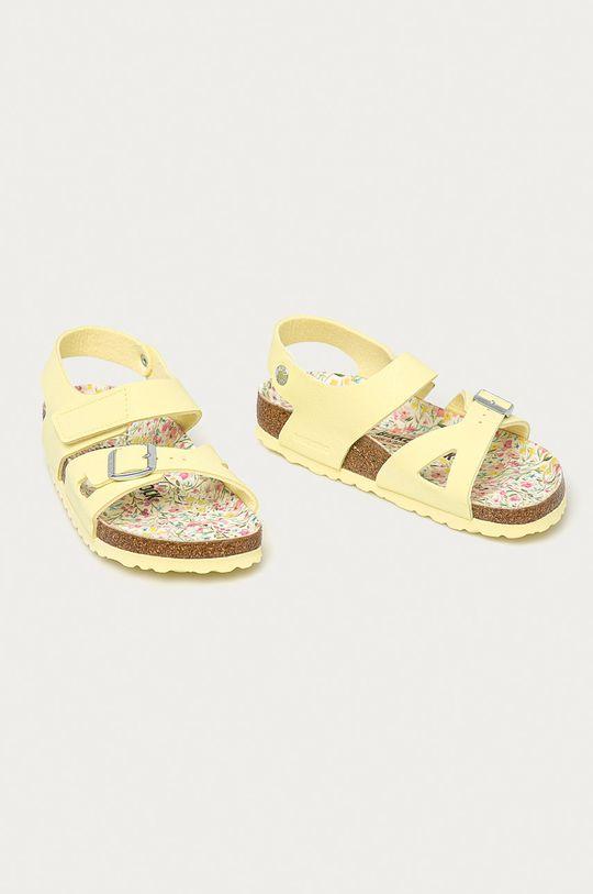 Birkenstock - Dětské sandály Colorado žlutá