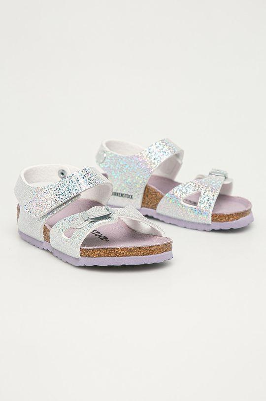 Birkenstock - Detské sandále Colorado strieborná