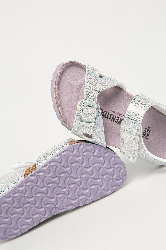 strieborná Birkenstock - Detské sandále Colorado