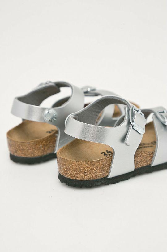 Birkenstock - Dětské sandály Rio  Svršek: Umělá hmota Vnitřek: Textilní materiál, Přírodní kůže Podrážka: Umělá hmota