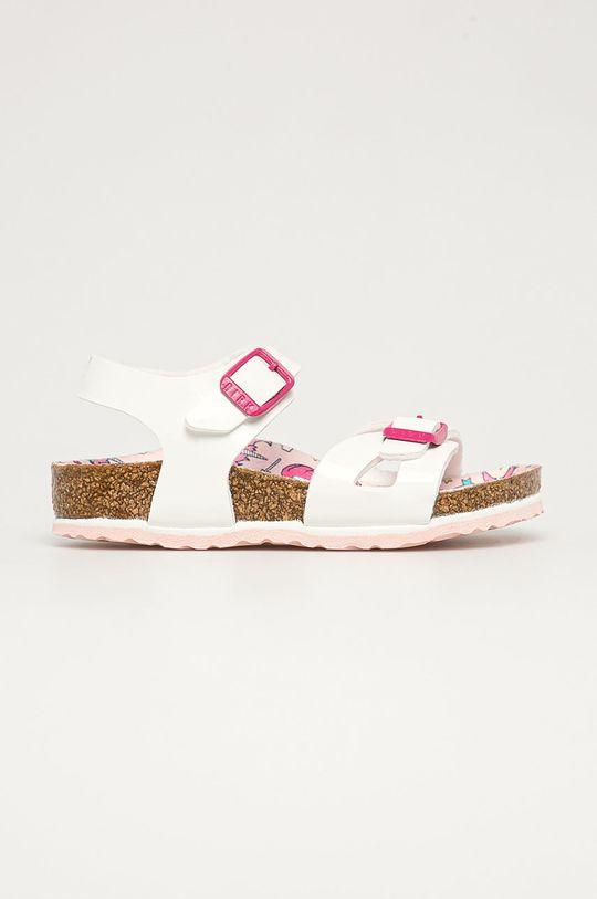 bílá Birkenstock - Dětské sandály Rio Dívčí