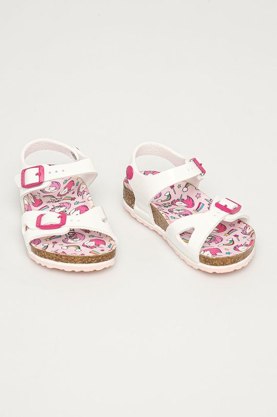 Birkenstock - Dětské sandály Rio bílá