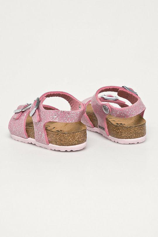 Birkenstock - Detské kožené sandále Cosmic  Zvršok: Prírodná koža Vnútro: Semišová koža Podrážka: Syntetická látka