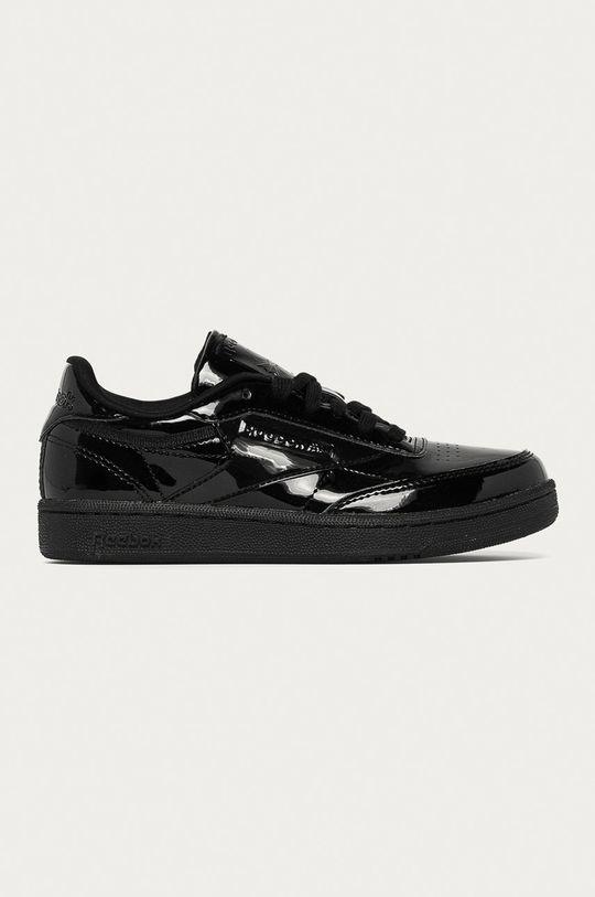 čierna Reebok Classic - Detské topánky Club C Dievčenský