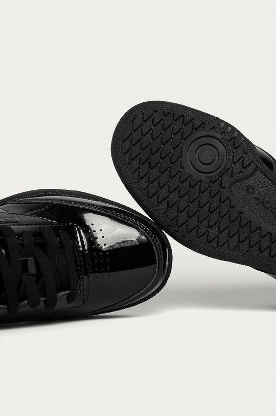 čierna Reebok Classic - Detské topánky Club C