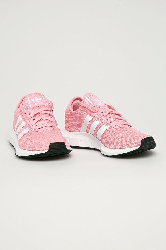 adidas Originals - Detské topánky Swift Run X J ružová