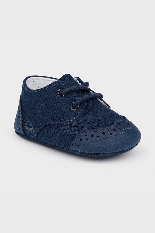 bleumarin Mayoral Newborn - Pantofi copii De fete