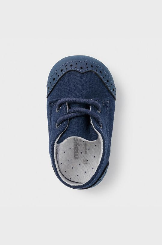 Mayoral Newborn - Pantofi copii  Gamba: 34% Bumbac, 24% In, 22% Poliester , 20% Poliuretan Interiorul: 100% Bumbac Talpa: 42% Bumbac, 30% In, 28% Poliester