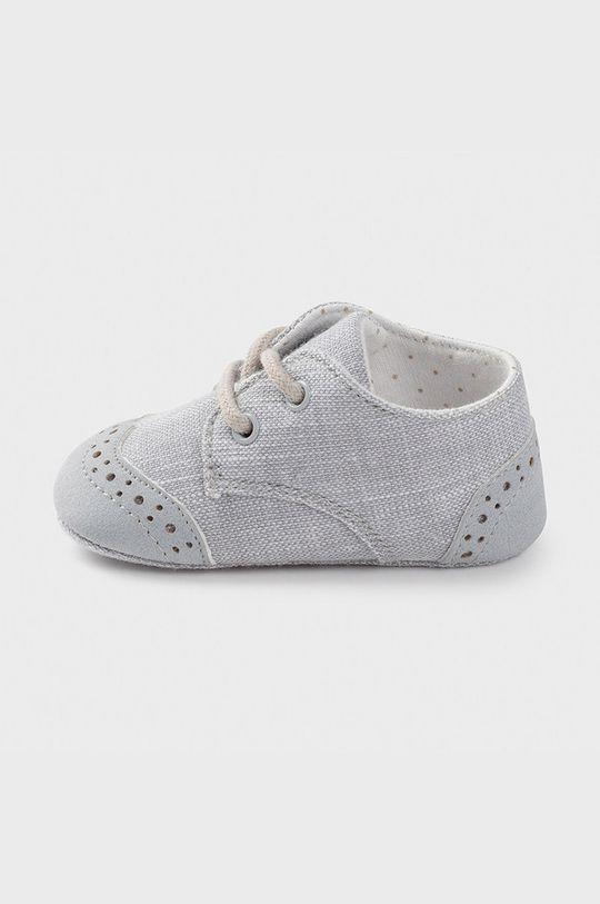 Mayoral Newborn - Detské topánky sivá