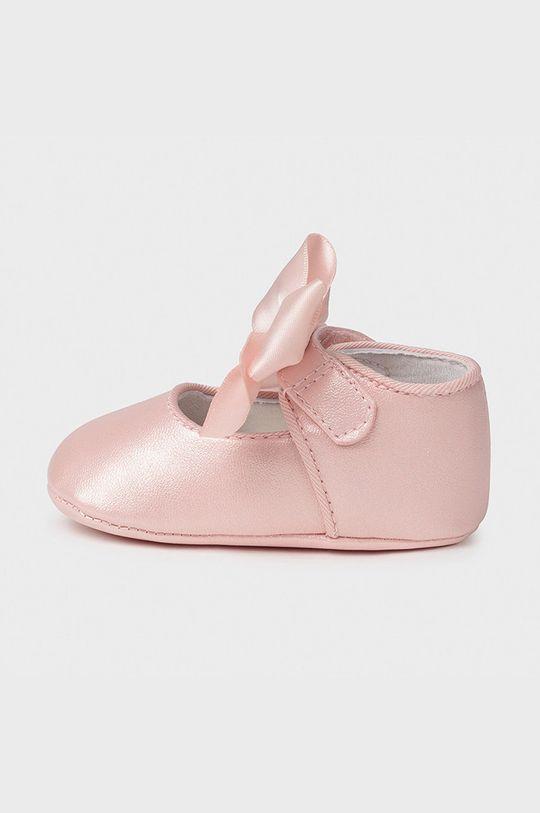 Mayoral Newborn - Detské balerínky pastelová ružová