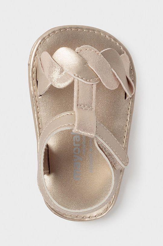 Mayoral Newborn - Detské sandále  Zvršok: 100% Polyuretán Podrážka: 100% Polyuretán Vložka: 100% Polyuretán