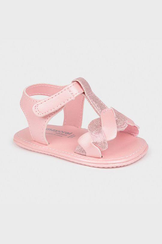 růžová Mayoral Newborn - Dětské sandály Dívčí