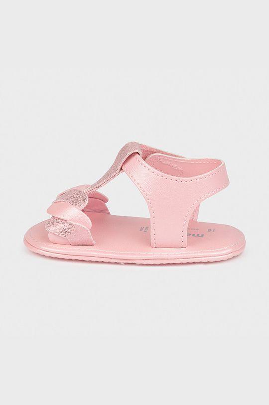 Mayoral Newborn - Dětské sandály růžová