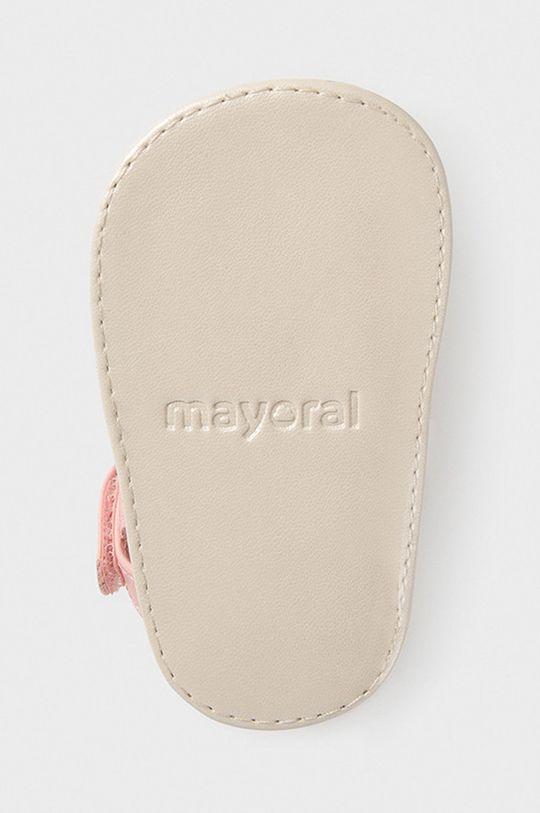 różowy Mayoral Newborn - Sandały dziecięce