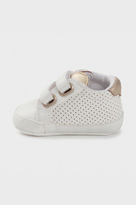 Mayoral Newborn - Detské topánky biela