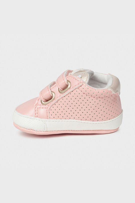 Mayoral Newborn - Detské topánky pastelová ružová