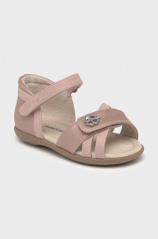 písková Mayoral - Dětské sandály Dívčí